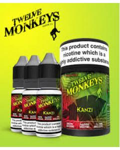 Kanzi E-juice by Twelve Monkeys