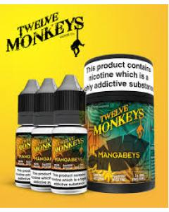 Mangabeys E-juice by Twelve Monkeys