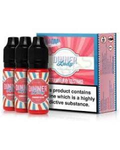 Strawberry Custard by Dinner Lady E-Juice ***BUNDLE OFFER Available***