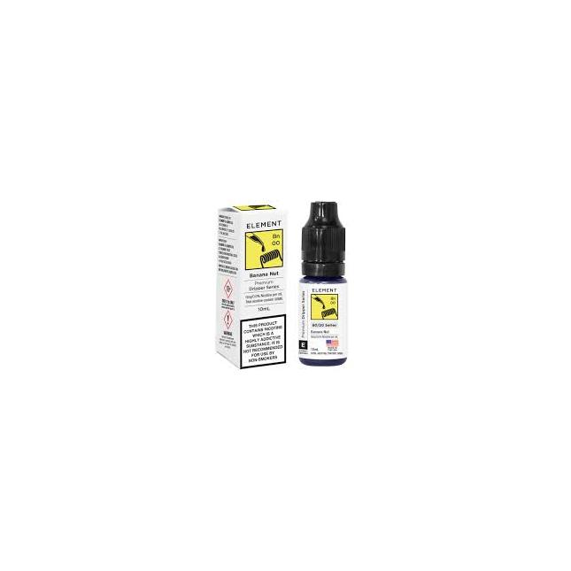 Banana Nut Dripper E-liquid by Element image
