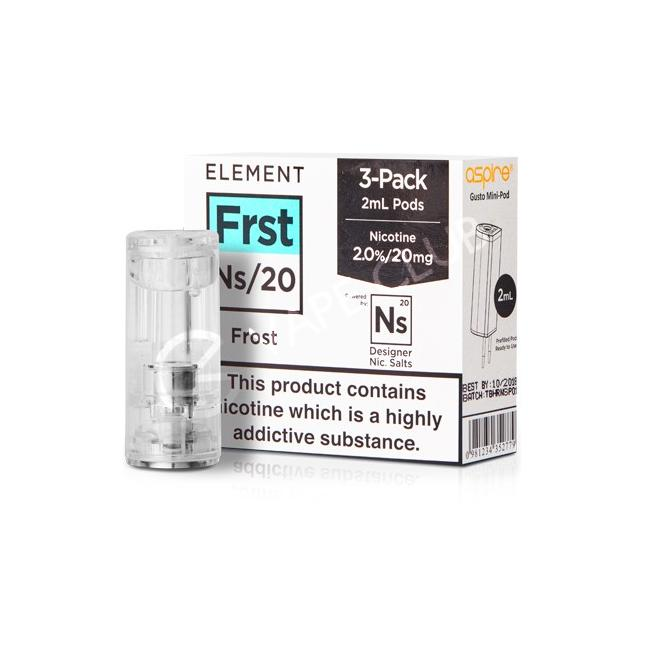 NS20 FROST ELIQUID POD BY ELEMENT image
