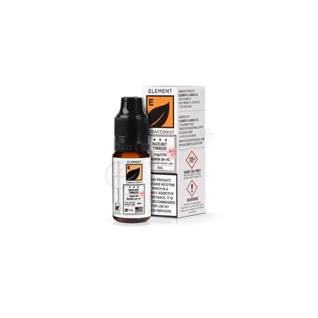 HAZELNUT TOBACCO HIGH VG ELIQUID BY ELEMENT image