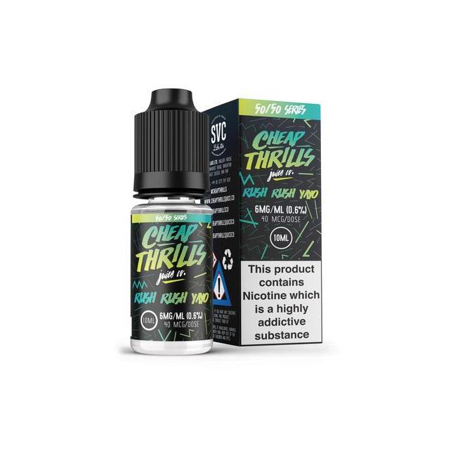 Rush Rush E-Juice by Cheap Thrills image