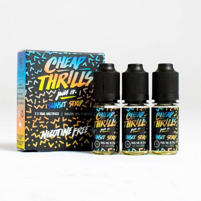 Sunset Strip E-Juice by Cheap Thrills image
