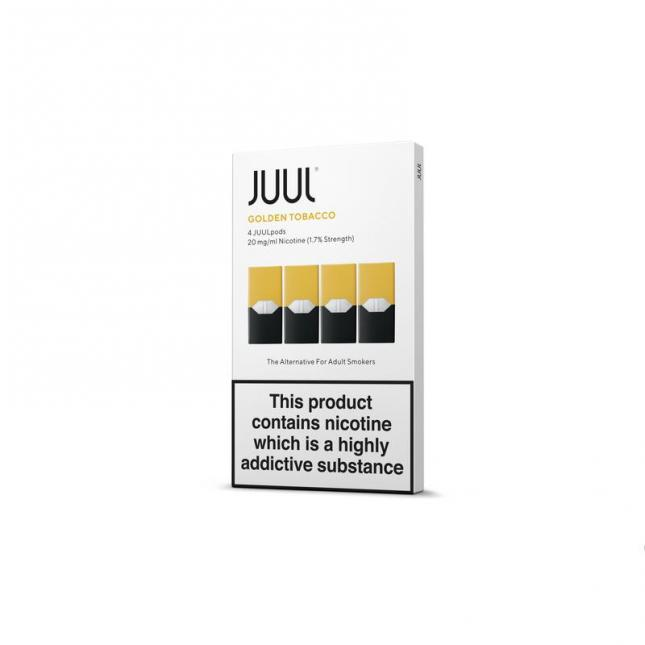JUUL Pods - Golden Tobacco (Pack of 4) image