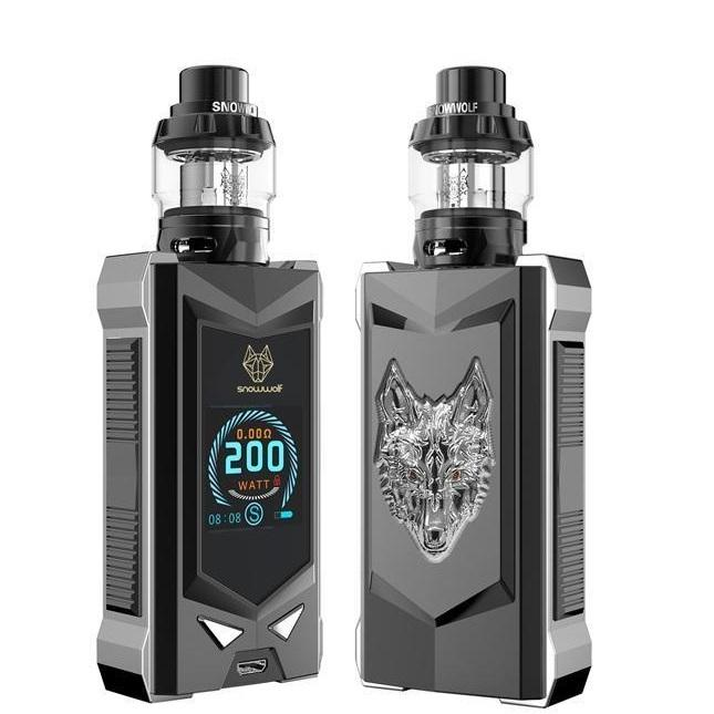SNOWWOLF MFENG-T KIT (Silver & Black) image