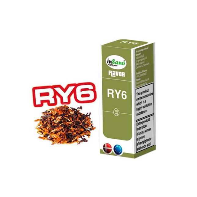 Ejuice RY6 (Tobacco) Flavour by Insano image