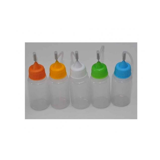 5 Assorted 10ml Mixing Pots For E-juice image